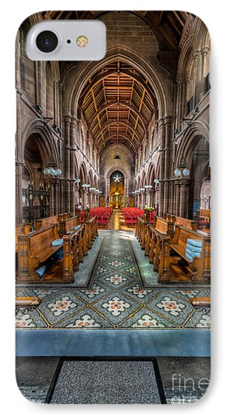 English Church IPhone Case by Adrian Evans
