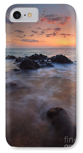 Engulfed By The Waves IPhone Case by Mike  Dawson