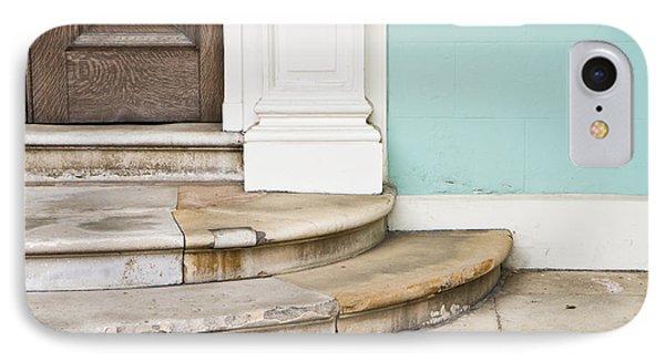 Entrance Steps Phone Case by Tom Gowanlock