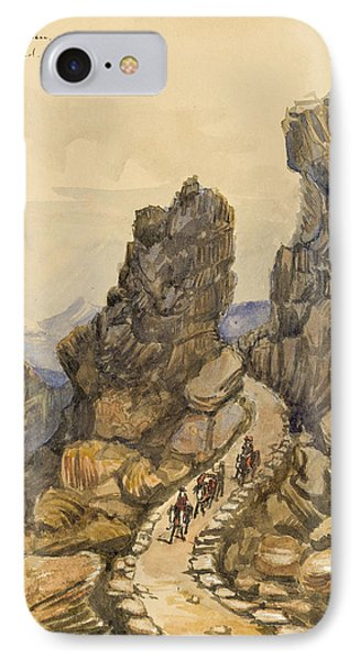 Entrance To The Almanna Gau Circa 1862 Phone Case by Aged Pixel