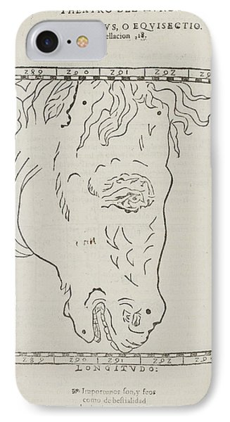 Equiculus Star Constellation IPhone Case by British Library