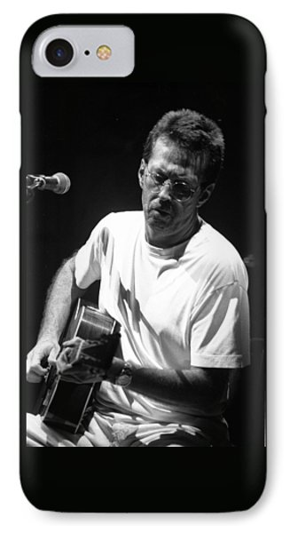Eric Clapton 003 IPhone Case by Timothy Bischoff
