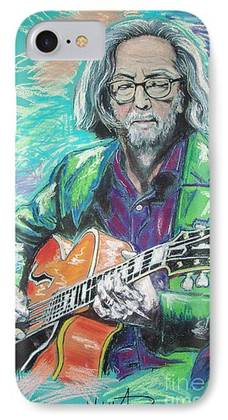 Eric Clapton IPhone 7 Case by Melanie D