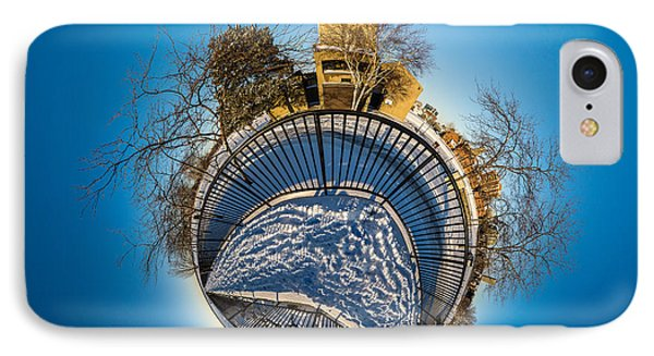 Erie Basin Marina Observation Tower IPhone Case by Chris Bordeleau