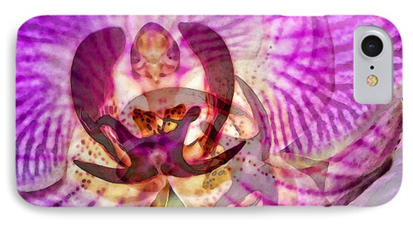 Ethereal Orchid By Sharon Cummings IPhone 7 Case by Sharon Cummings