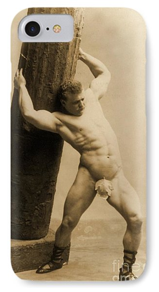 Eugen Sandow IPhone Case by American School