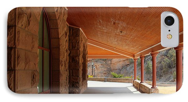 IPhone Case featuring the photograph Evans Porch by Bill Gabbert
