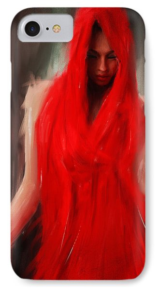 Eve Within IPhone Case by Lourry Legarde
