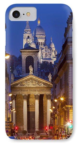Evening In Paris Phone Case by Brian Jannsen