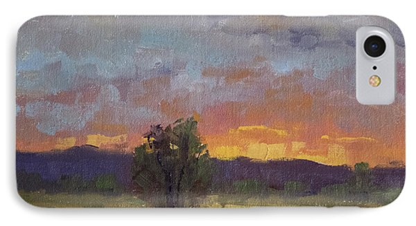 Evening Light At Fossil Creek IPhone Case by Bonnie Bowne