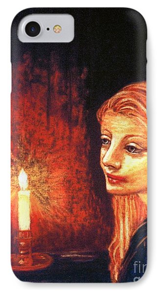Evening Prayer IPhone Case by Jane Small