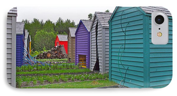 Every Garden Needs A Shed And Lawn Two In Les Jardins De Metis/reford Gardens Near Grand Metis-qc Phone Case by Ruth Hager