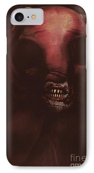 Evil Greek Mythology Minotaur IPhone Case by Jorgo Photography - Wall Art Gallery