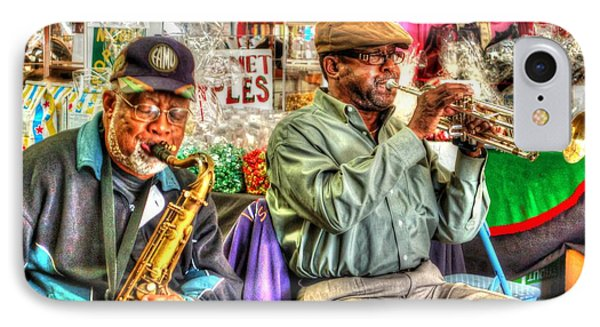 Excelsior Band Horn Players Phone Case by Michael Thomas