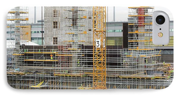Expansion Work At Oslo Airport In Norway IPhone Case by Ashley Cooper