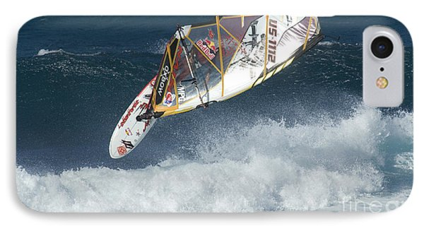 Extreme Windsurfing  IPhone Case by Bob Christopher