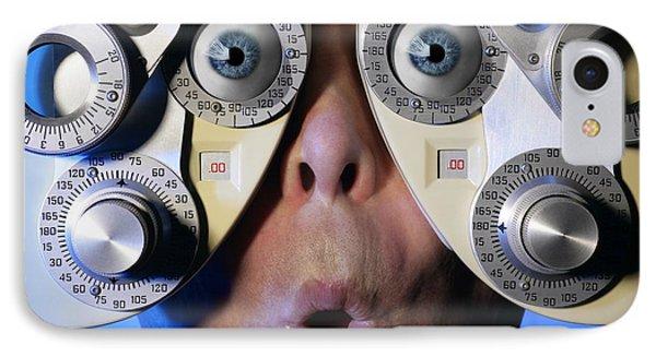 Eye Exam IPhone Case by Don Hammond