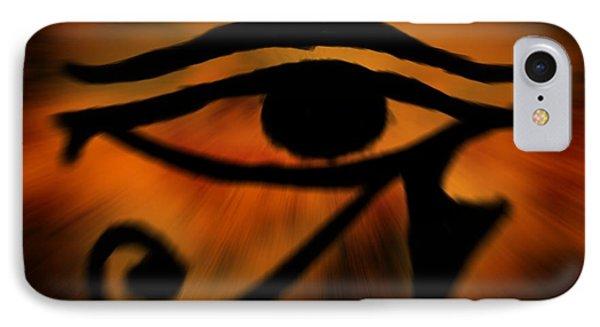 Eye Of Horus Eye Of Ra IPhone Case by John Wills