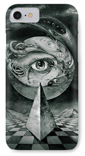 Eye Of The Dark Star Phone Case by Otto Rapp