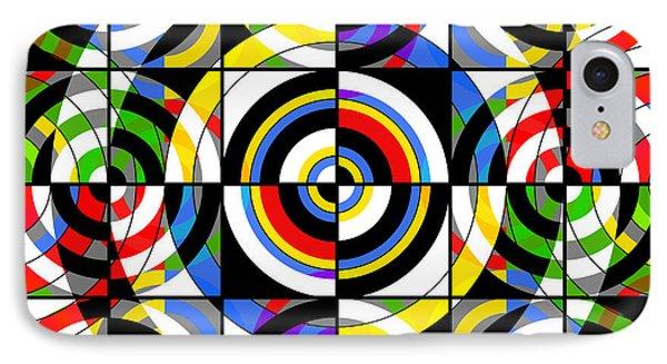 Eye On Target Phone Case by Mike McGlothlen