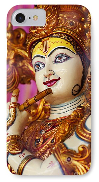 Eyes Of Krishna IPhone Case by Tim Gainey
