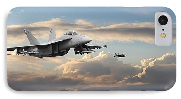 F18 - Super Hornet IPhone Case by Pat Speirs