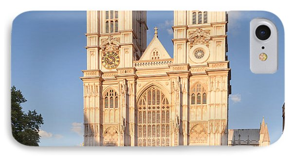 Facade Of A Cathedral, Westminster IPhone Case by Panoramic Images