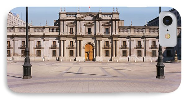 Facade Of A Palace, Plaza De La Moneda IPhone Case by Panoramic Images