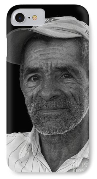 Face Of A Hardworking Man Phone Case by Heiko Koehrer-Wagner
