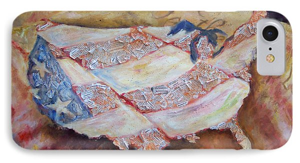 Faded Glory Phone Case by Deborah Smith