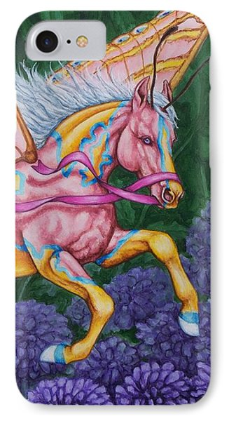 Faery Horse Hope Phone Case by Beth Clark-McDonal