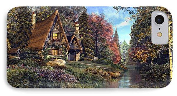 Fairytale Cottage IPhone Case by Dominic Davison