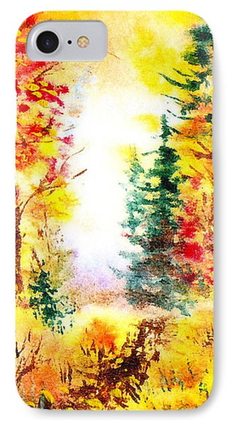Fall Forest IPhone Case by Irina Sztukowski