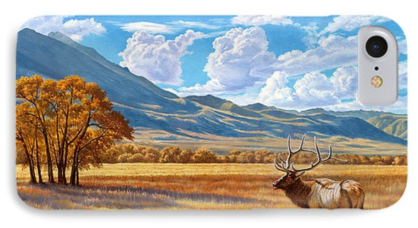 Fall In Paradise Valley IPhone Case by Paul Krapf