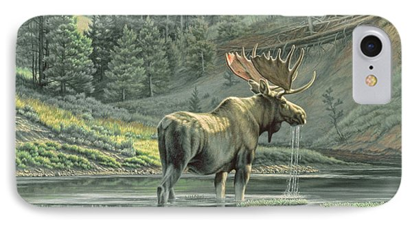 Fall On The Yellowstone Phone Case by Paul Krapf