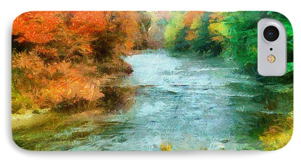 Fall River IPhone Case by Anthony Caruso