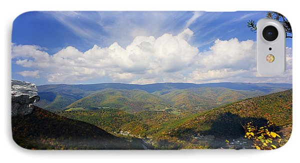Fall Scene From North Fork Mountain Phone Case by Dan Friend