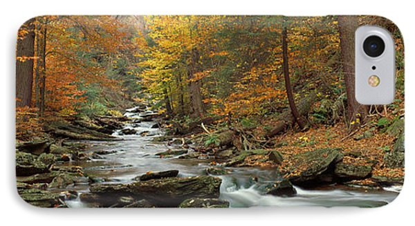 Fall Trees Kitchen Creek Pa IPhone Case by Panoramic Images