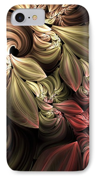 Fallen From Grace Abstract IPhone Case by Georgiana Romanovna