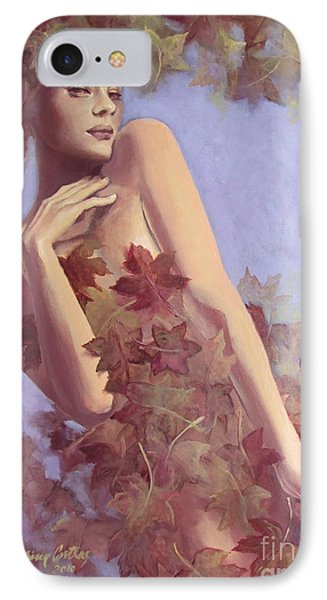 Fall...in Love... Phone Case by Dorina  Costras