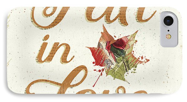 Falling For Fall IIi IPhone Case by Katie Pertiet