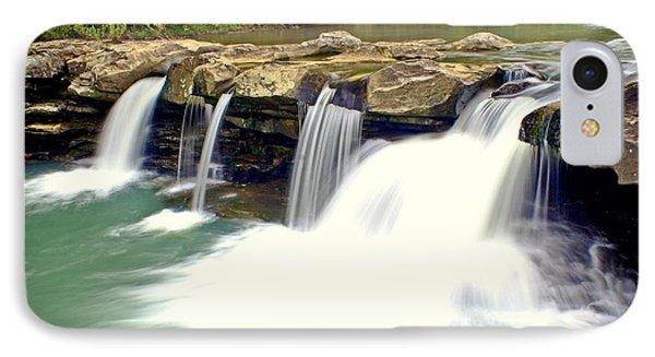 Falling Waters Falls 4 Phone Case by Marty Koch