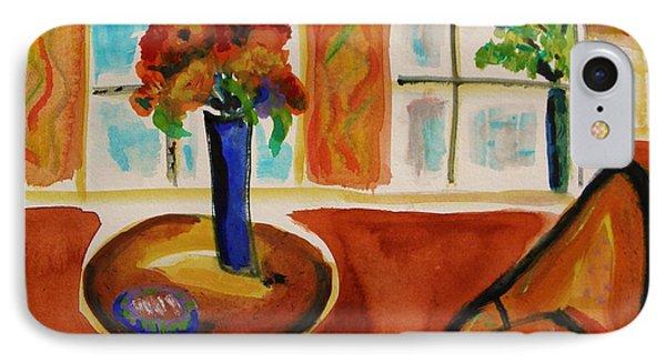 Family Room Corner Phone Case by Mary Carol Williams
