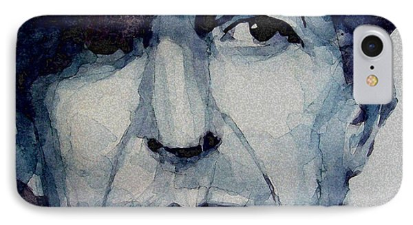 Famous Blue Raincoat IPhone Case by Paul Lovering