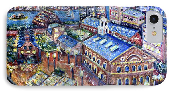 Faneuil Hall IPhone Case by Jason Gluskin