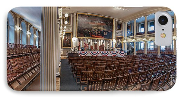 Faneuil Hall IPhone Case by Scott Thorp