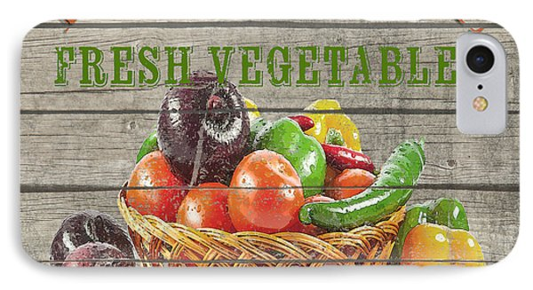 Farm To Table Vegetables-jp2632 IPhone Case by Jean Plout