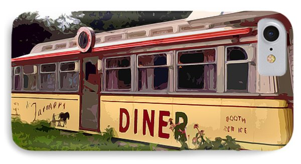 Farmers Diner Phone Case by Jean Hall