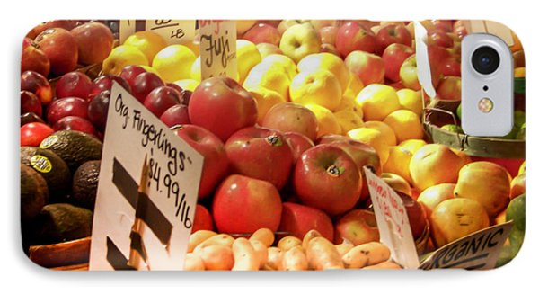 Farmers Market IPhone Case by Karen Wiles