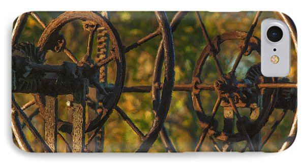 Farmers Tools Of Old Phone Case by Jack Zulli